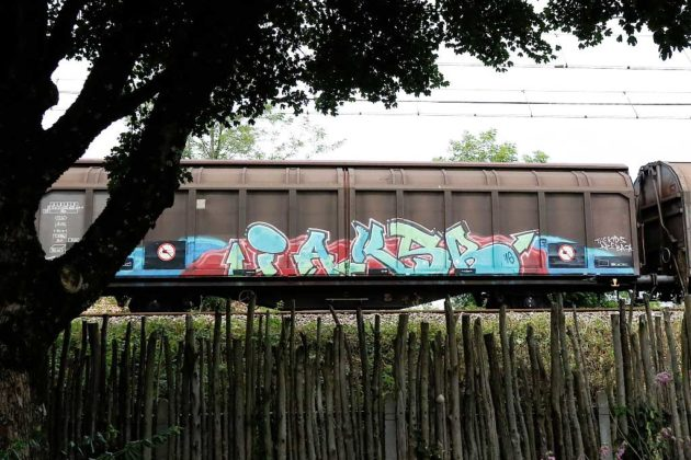 Freight Train Graffiti France
