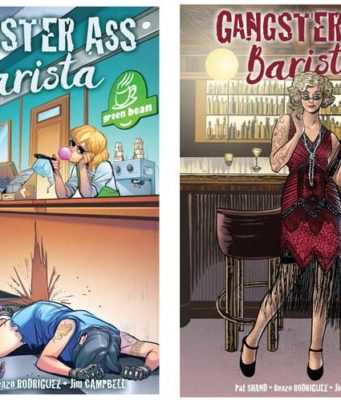 Gangster Ass Barista Comic Book