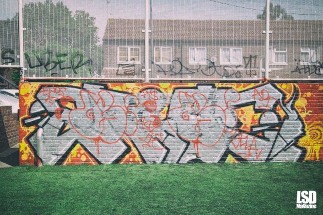 London Fields HOF Graffiti