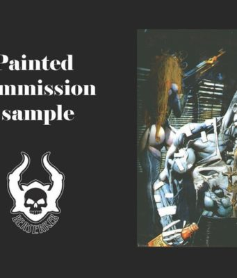 Simon Bisley 2018 Art Book
