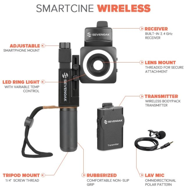 SmartCine - Smartphone Video Kit