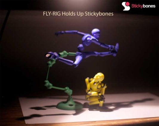Stickybones Rapid Posing Animation Made Easy
