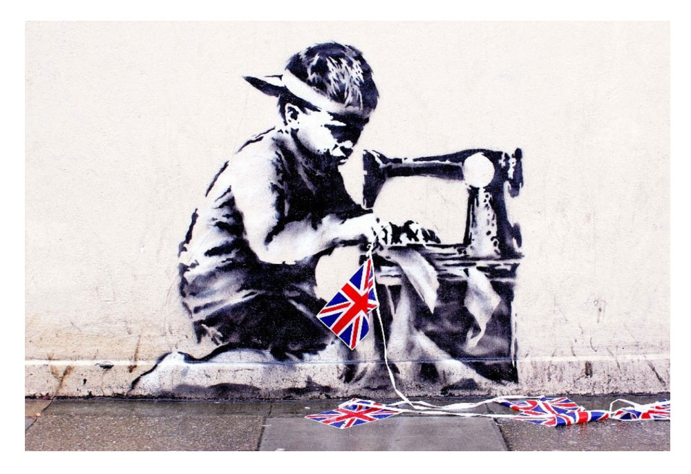 Ron English Banksy Slave Labour