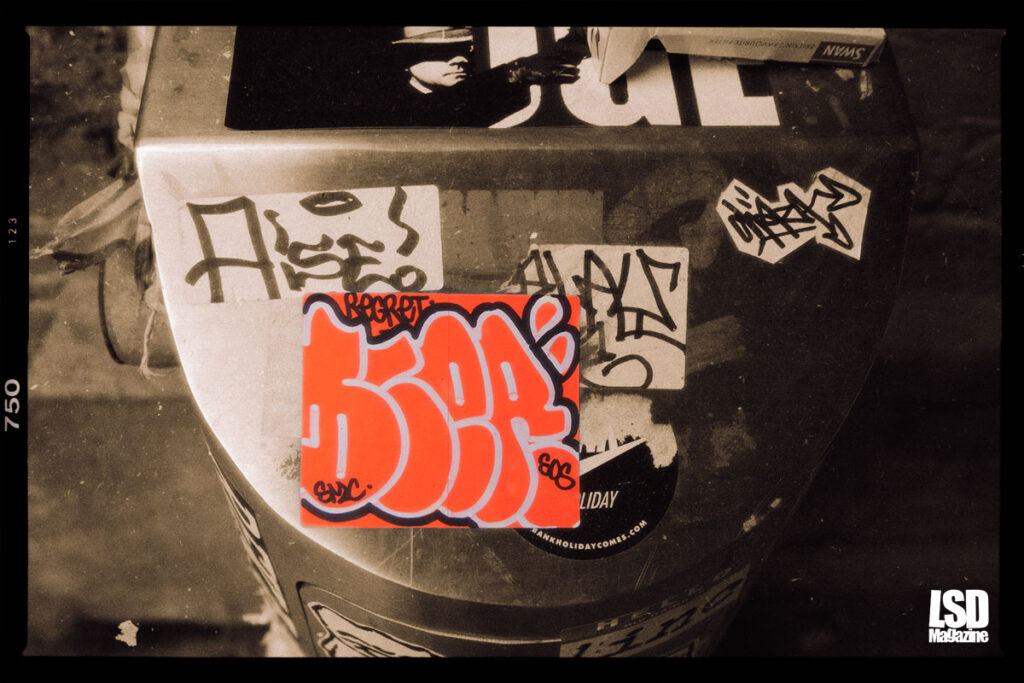 Graffiti Sticker Art 2013