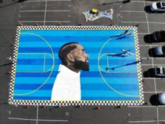 Nipsey Hussle Graffiti Art