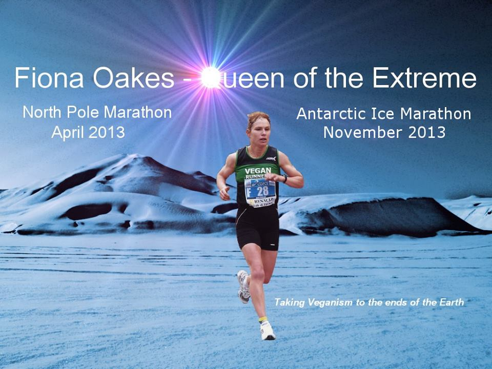 Fiona Oakes Vegan Runner