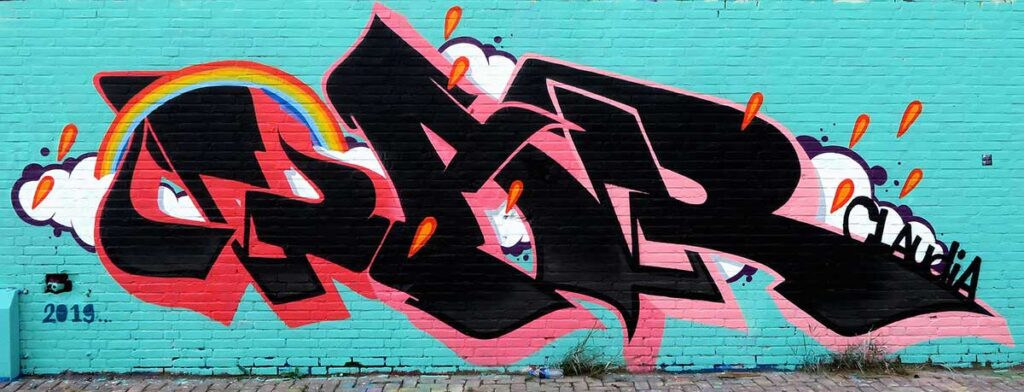 Amsterdam Graffiti July WojoFoto