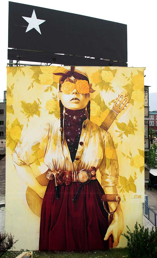 INTI Mural in Chile