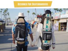 Plutoray Skate Backpack